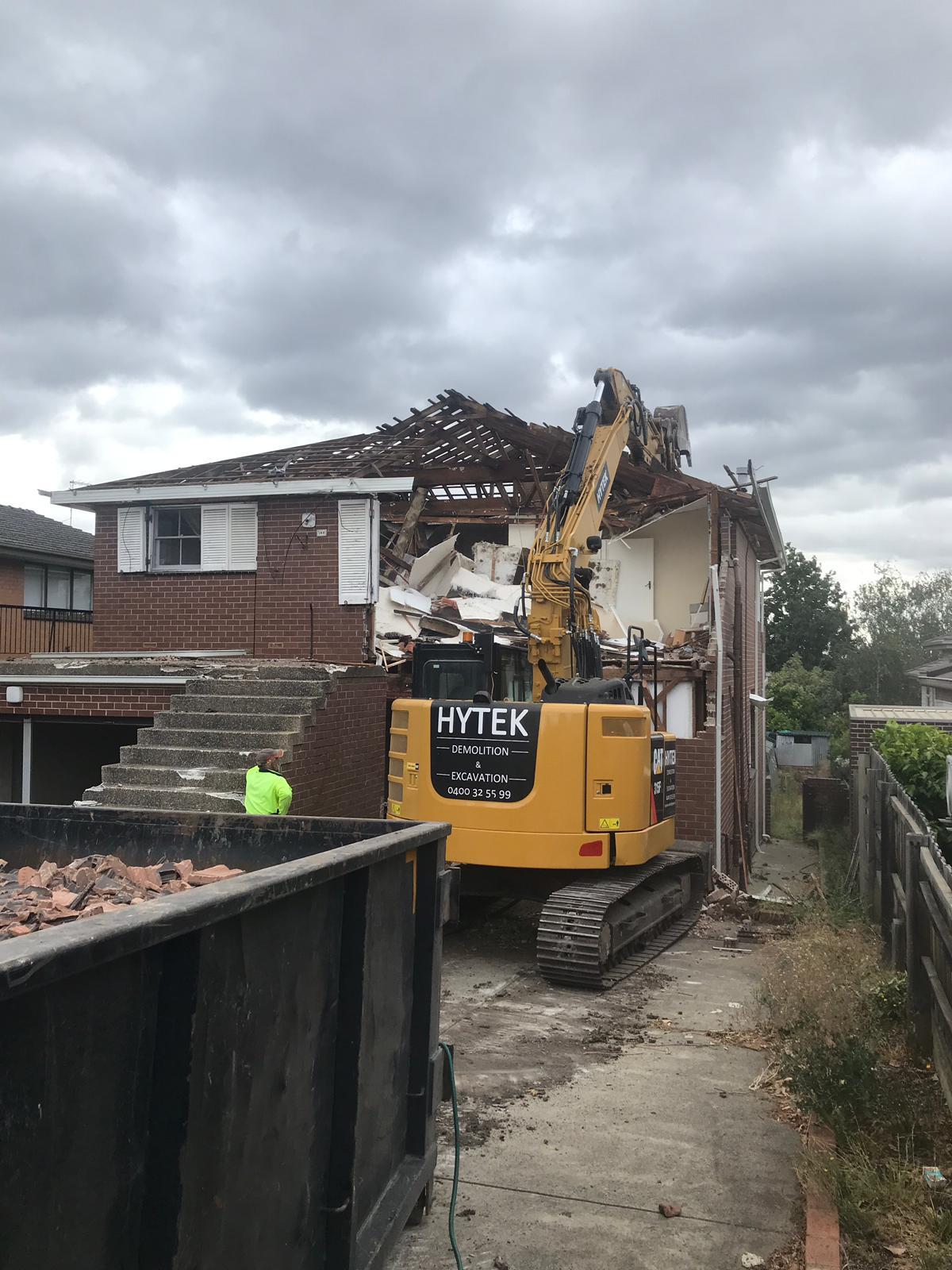 Hytek Demolition | Demolition And Excavation Services Melbourne